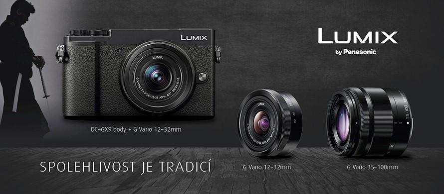 Panasonic Lumix DC-GX9 + 12-32 + 35-100