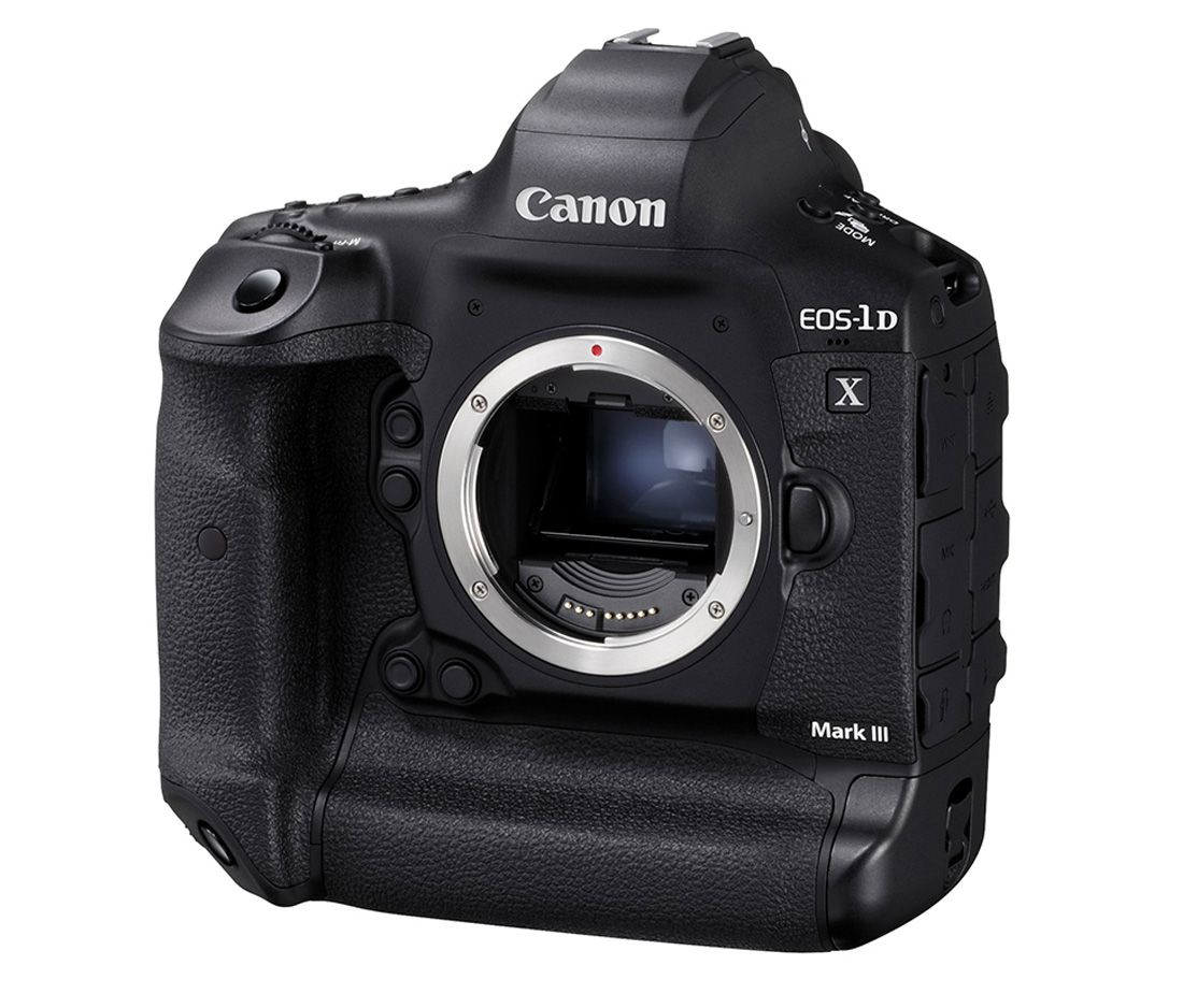 Vlajková loď Canon EOS 1DX Mark III. Foto 1