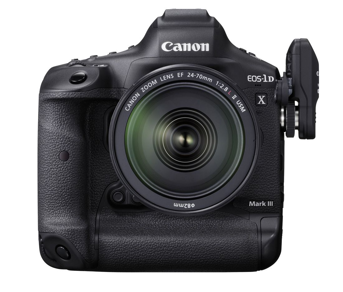 Vlajková loď Canon EOS 1DX Mark III. Foto 3