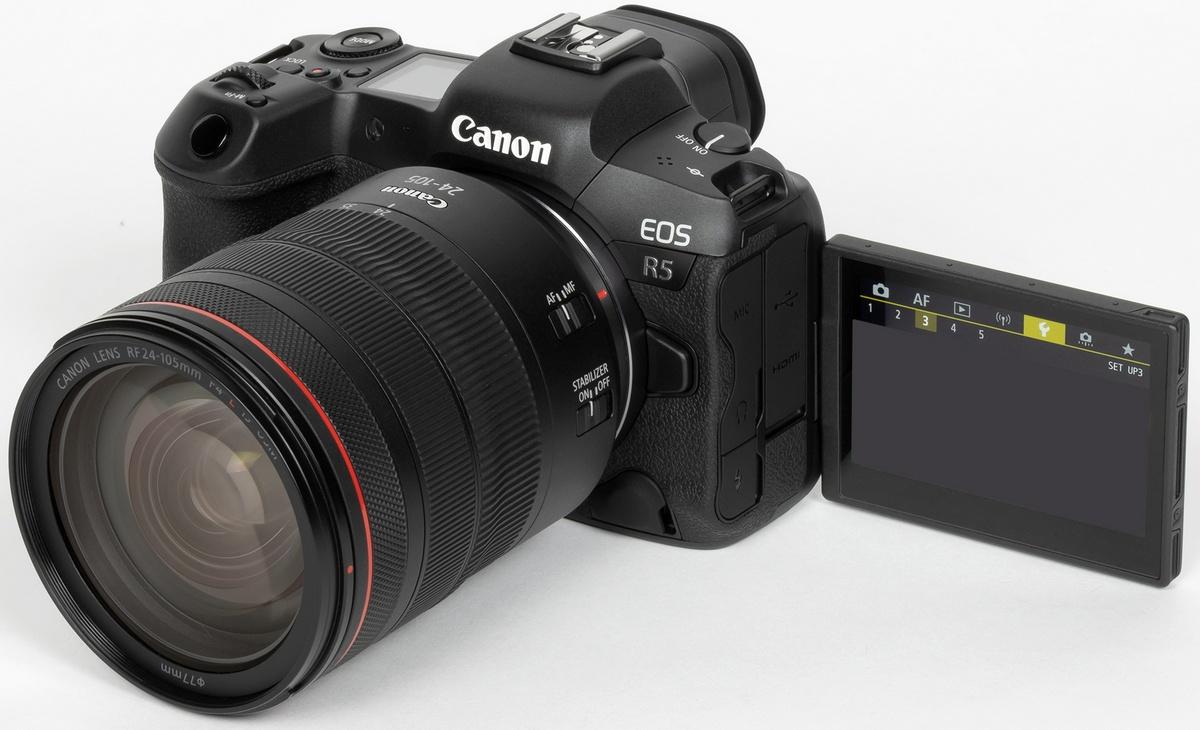 Canon EOS R5. Foto 8