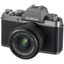 Fujifilm X-T100 stříbrná + XC 15-45mm f/3.5-5.6 OIS PZ