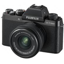 Fujifilm X-T100 černý + XC 15-45mm f3.5-5.6 OIS PZ VRÁCENO VE 14 DNECH