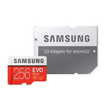 Samsung microSDXC Card 256 GB EVO Plus 100 MB/s (SD Adapter), MB-MC256GA