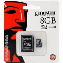 Kingston MICRO SDHC 8GB Class 10 + Adaptér