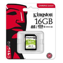 Kingston SDHC Canvas Select 16GB UHS-I U1