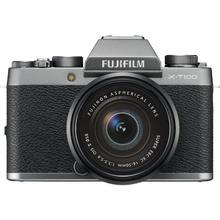 Fujifilm X-T100 + XC 16-50mm f/3.5-5.6 OIS II, Černá / stříbrná