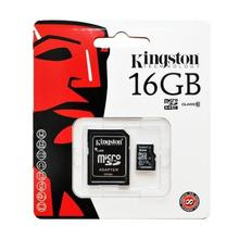 Kingston MICRO SDHC 16GB Class 10 UHS-I + Adaptér