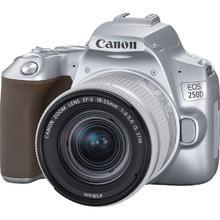 Canon EOS 250D + 18-55mm IS STM, Stříbrný