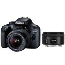 Canon EOS 4000D + EF-S 18-55 DC III + EF 50 f/1,8