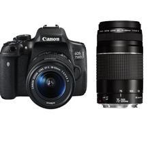 Canon EOS 750D + 18-55 DC III + 75-300 DC III