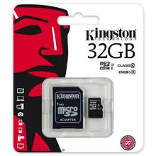 Kingston MICRO SDHC 32GB Class 10 UHS-I + Adaptér