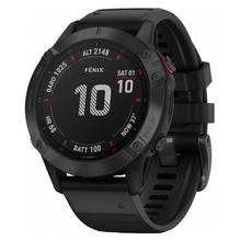 Garmin Fenix 6 PRO Glass black/black band