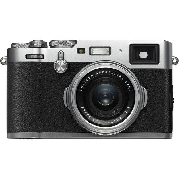Fujifilm FinePix X100F stříbrný  - 1