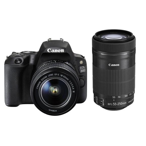 Canon EOS 200D + EF-S 18-55 DC III + 55-250 IS STM  - 1