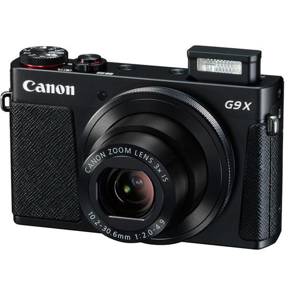 Canon PowerShot G9X, černá  - 1