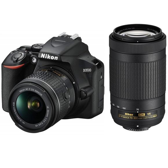 Nikon D3500 + 18-55mm AF-P DX VR + 70-300mm ED AF-P DX VR  - 1