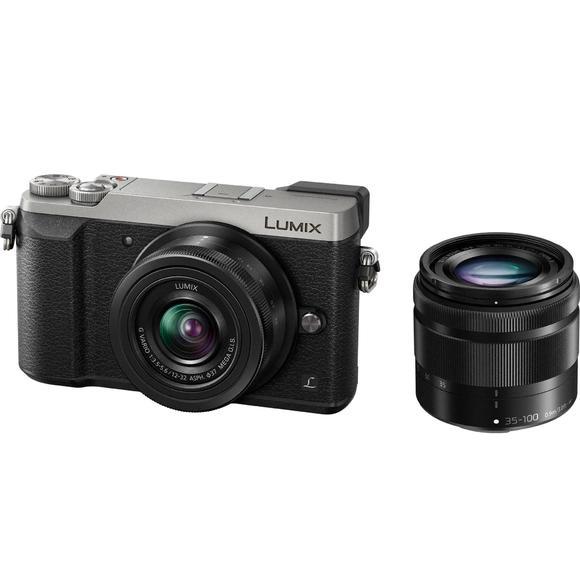 Panasonic Lumix DMC-GX80 + 12-32 + 35-100 stříbrná  - 1
