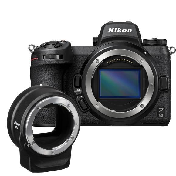 Nikon Z6 II + FTZ adapter  - 1