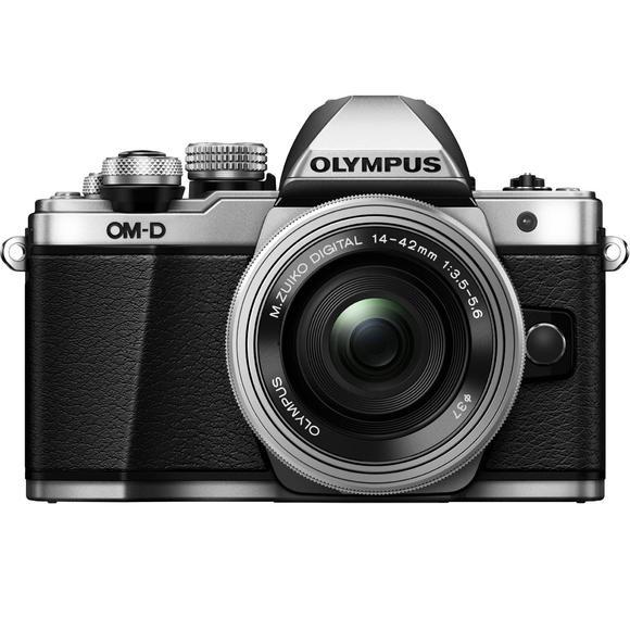 Olympus E-M10 Mark II + 14-42mm, stříbrná  - 1