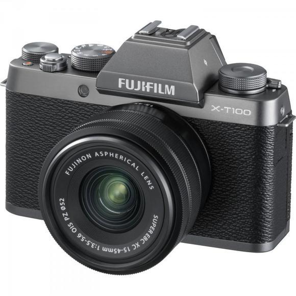 Fujifilm X-T100 stříbrná + XC 15-45mm f/3.5-5.6 OIS PZ  - 1