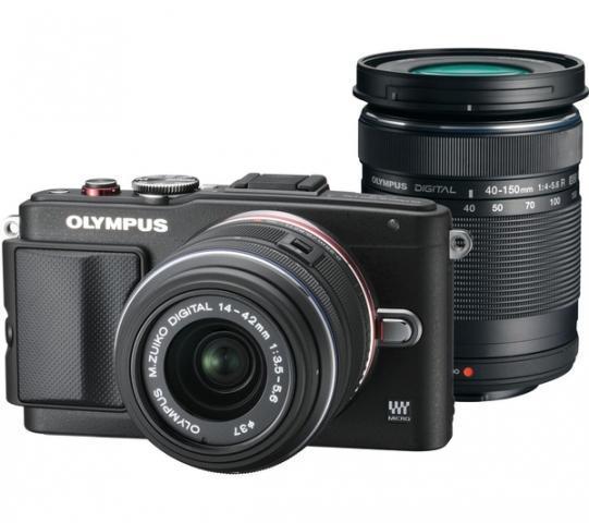 Olympus PEN E-PL6 + 14-42mm II R + 40-150mm  - 1