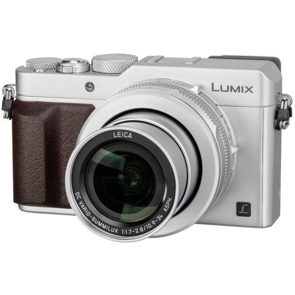 Panasonic Lumix DMC-LX100 Stříbrná  - 1