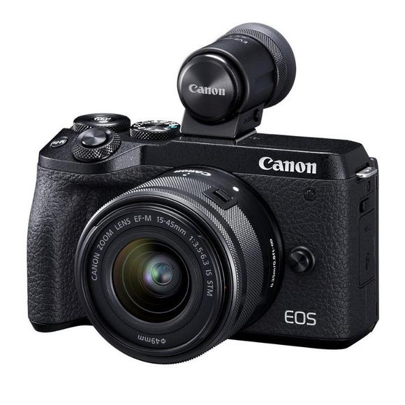Canon EOS M6 Mark II + 15-45 mm+ EVF  - 1