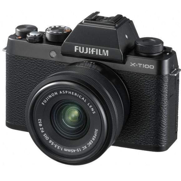 Fujifilm X-T100 černý + XC 15-45mm f3.5-5.6 OIS PZ  - 1