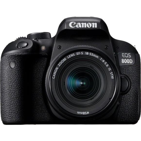Canon EOS 800D + 18-55mm IS STM  POŠKOZENÝ OBAL   - 1