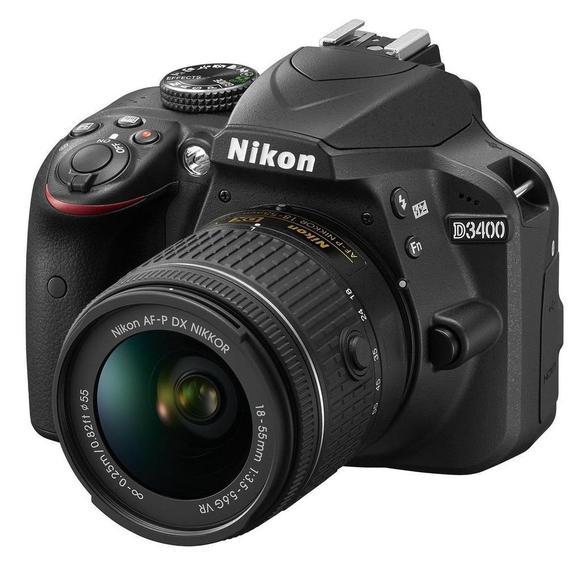 Nikon D3400 + 18-55 mm AF-P VR + 55-300 AF-S DX VR  - 1
