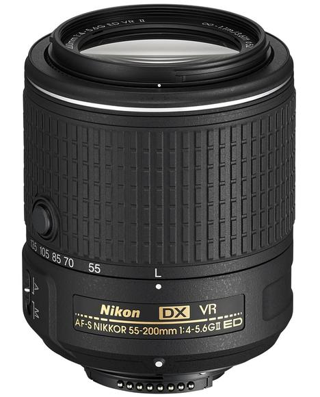 Nikon 55-200mm f/4-5,6G AF-S DX VR II IF-ED  - 1