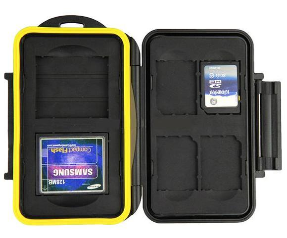 JJC MC-SD/CF6 Memory Card Case  - 1