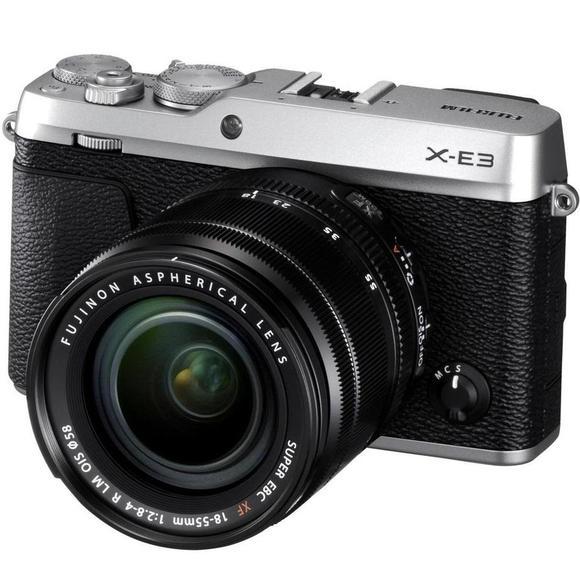 Fujifilm X-E3 + XF 18-55 stříbrná  - 1