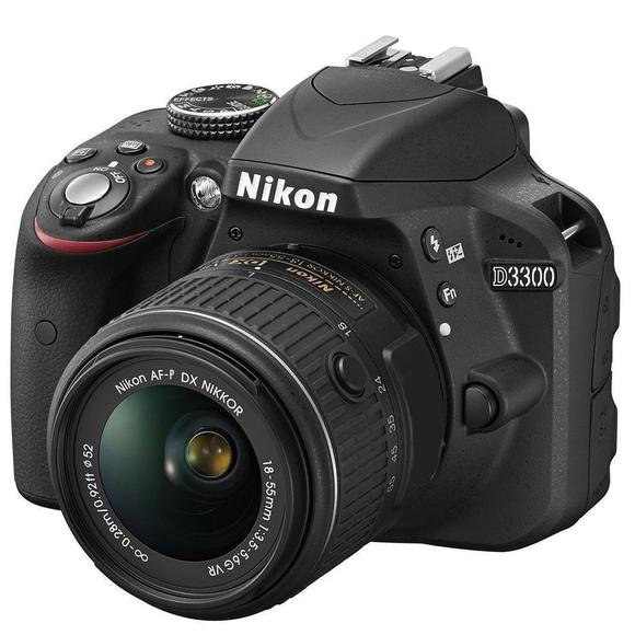 Nikon D3300 + 18-55 mm AF-P VR + 55-300 AF-S DX VR  - 1