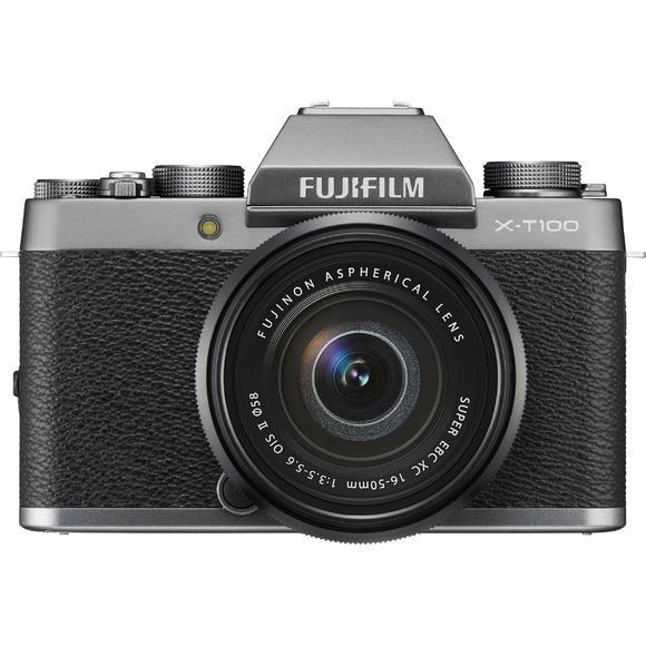 Fujifilm X-T100 + XC 16-50mm f/3.5-5.6 OIS II, Černá / stříbrná  - 1