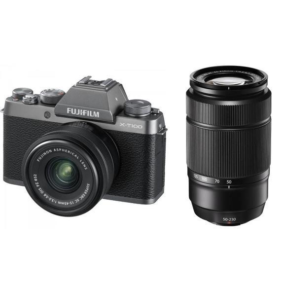 Fujifilm X-T100 + XC 15-45mm f/3.5-5.6 + XC 50-230mm f/4.5-6.7  - 1
