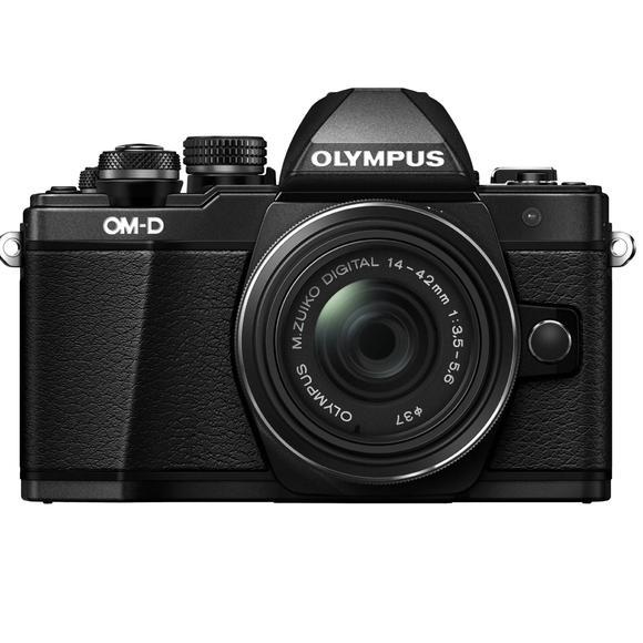 Olympus E-M10 Mark II + 14-42mm, černá  - 1