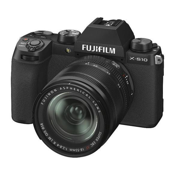 Fujifilm X-S10 + XF 18-55mm f/2,8-4, Black  Poškozený obal   - 1