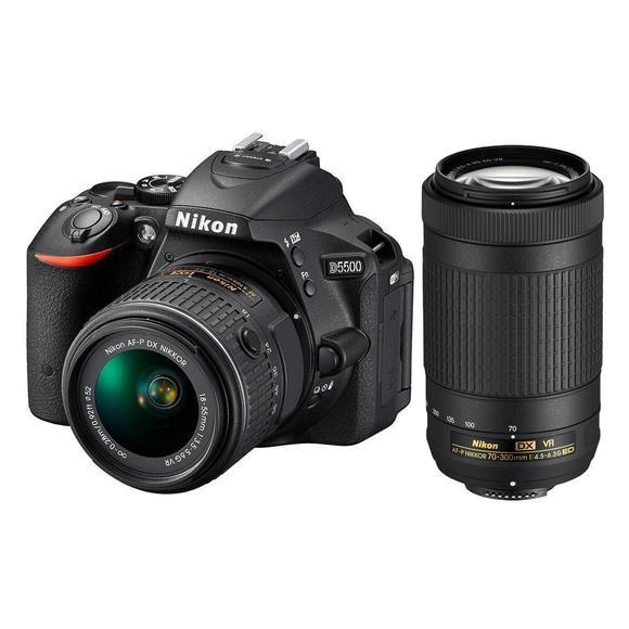 Nikon D5500 + 18-55 AF-P VR + 70-300mm AF-P DX VR  - 1