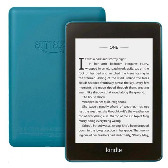 Amazon Kindle Paperwhite 4 2018, 32GB Waterproof s reklamou, Blue  - 1