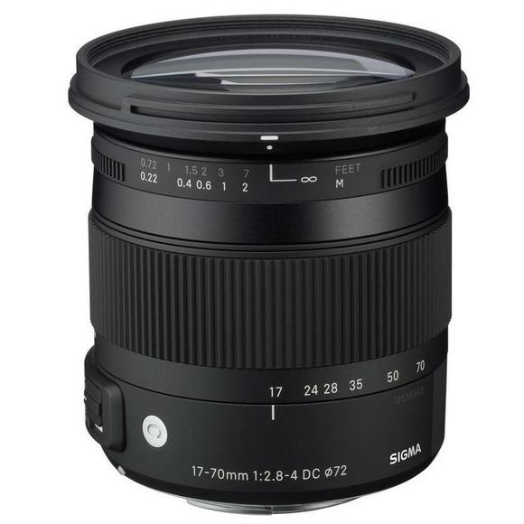 Sigma 17-70mm f/2,8-4 DC Macro OS HSM Canon  - 1