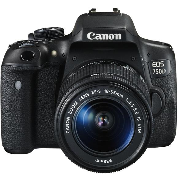 Canon EOS 750D + 18-55 IS STM + 55-250 IS STM  - 1