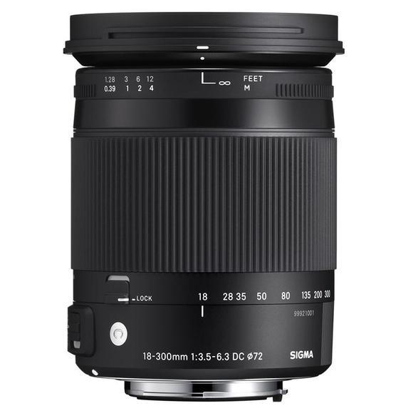 SIGMA 18-300 mm f/3,5-6,3 DC Macro OS HSM Nikon  - 1