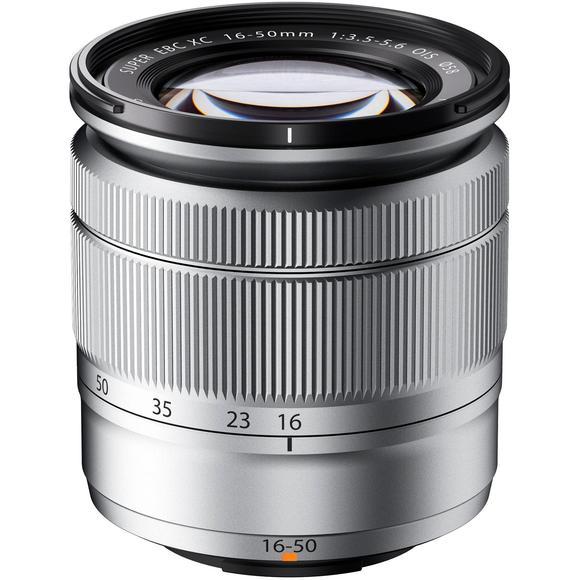 Fujifilm XC 16-50mm f/3.5-5.6 OIS II stříbrná  - 1