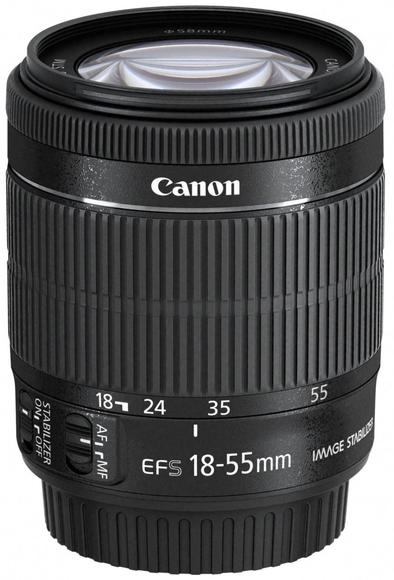 Canon EF-S 18-55mm f/3.5-5.6 IS STM  - 1