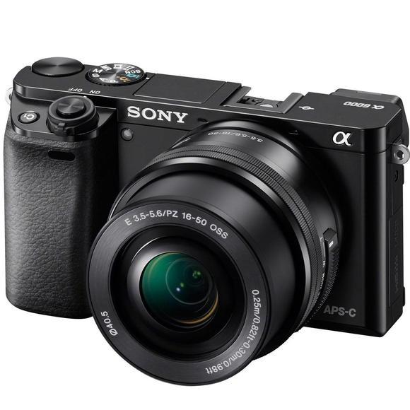 Sony Alpha A6000 + 16–50mm, černá  - 1