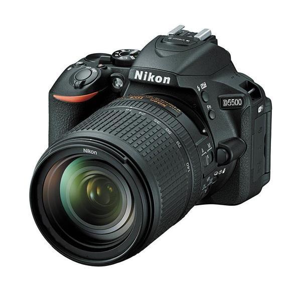 Nikon D5500 + 18-105 mm AF-S DX VR  - 1