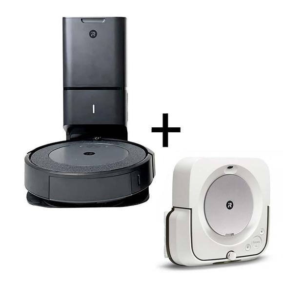 iRobot Roomba i3+  ( i3554) + Robot Braava Jet m6  - 1
