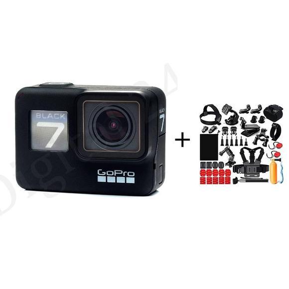 GoPro HERO7 Black + Universal Kit 42 in1  - 1