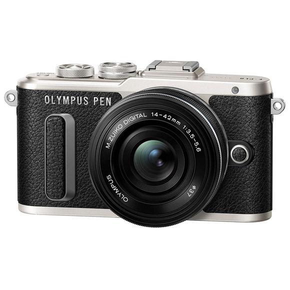 Olympus E-PL8 černý tělo + 14-42mm EZ  - 1